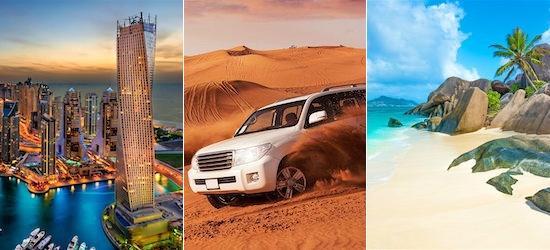 UAE & Seychelles: Emirate City & Indian Ocean Archipelago