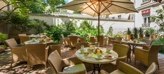 Based on 2 people per night | Boutique Paris stay near the Champs-Élysées, Hotel Magellan, France