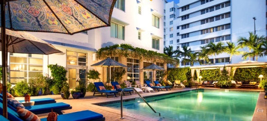 Based on 2 people per night | Fashionable Miami boutique base by the beach, Circa 39, Florida