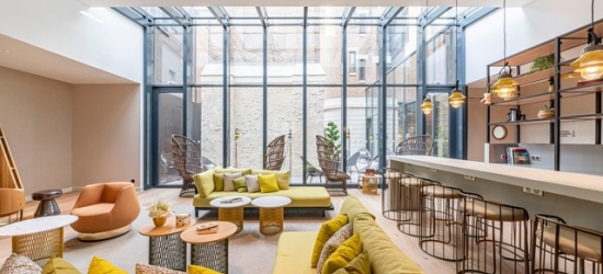 $ Based on 2 people per night | Sparkling Champagne-region pad overlooking Reims cathedral, La Caserne Chanzy Hôtel & Spa, Autograph Collection, France