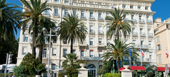 Based on 2 people per night | Historic hotel on Nice's Promenade des Anglais, Hotel West End, French Riviera