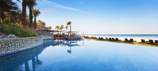 Dubai: 5* beach break w/flights & private transfers (72% off)
