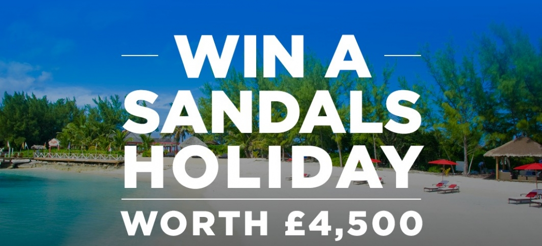 Win a luxurious Sandals Caribbean holiday worth £4,500