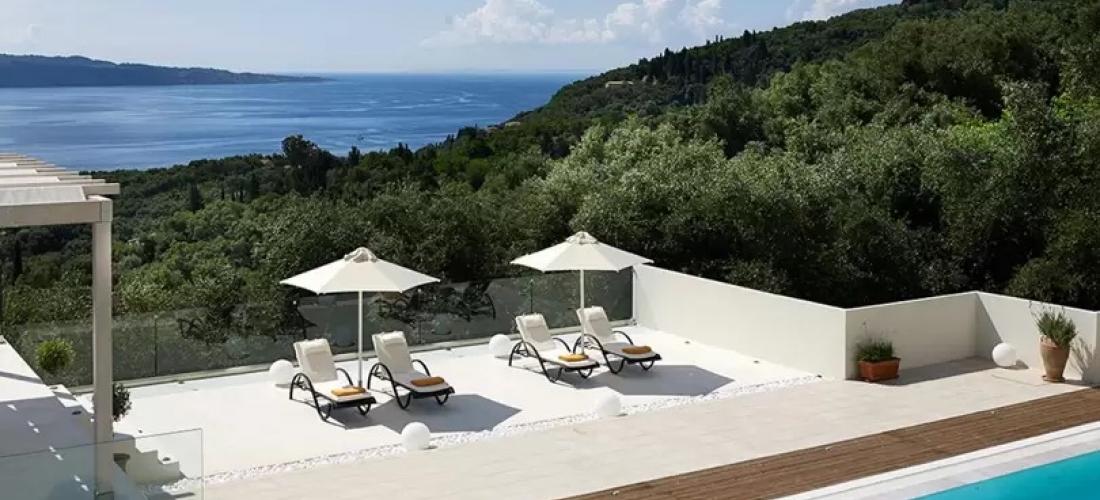 Win a stylish villa break for two in Corfu