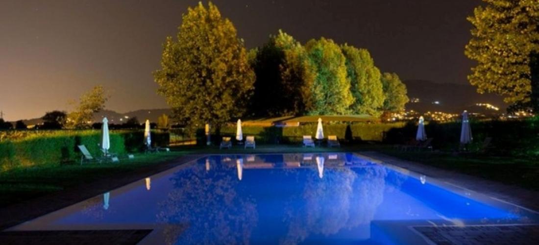 Arezzo: camera Classic con colazione o mezza pensione e welcome drink per 2 persone presso l'Hotel Le Capanne