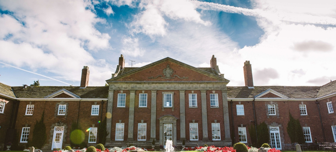 Overnight Champney Mottram Hall Stay For 2 & Prosecco