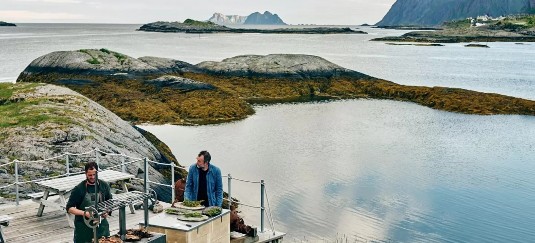 Win a foodie getaway to Norway's Lofoten Islands