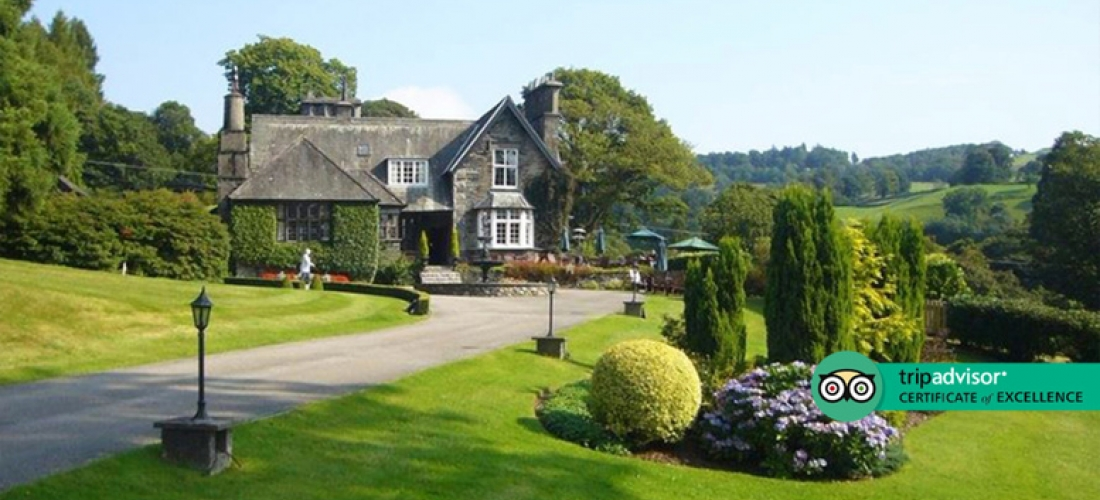 5* Lake District, Spa Access, 4-Course Dining & Cream Tea for 2