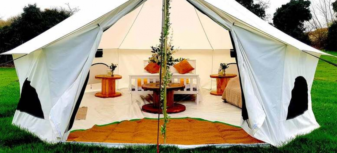 Luxury Glamping For Up To 6 People, Nottingham
