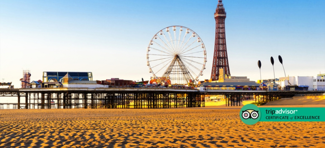 Blackpool Mini-Escape, Breakfast, Tea & Biscuits for 2 or 3