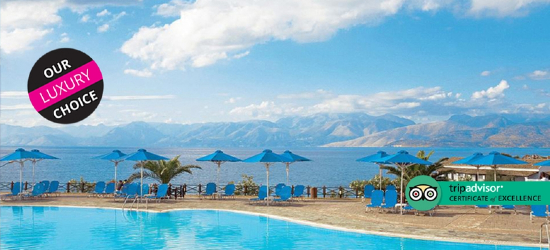 4* All-Inclusive Corfu Beach Getaway  - Seafront Resort!
