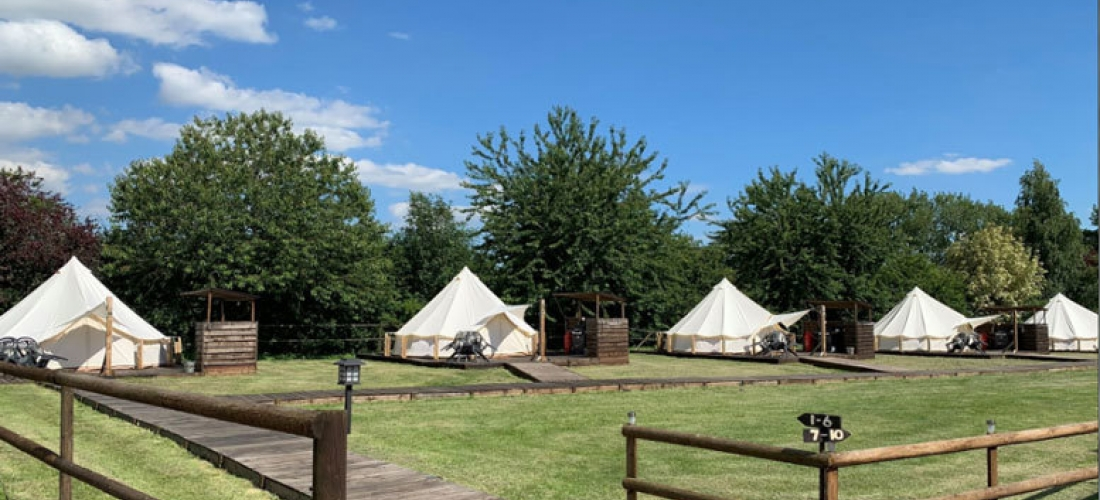 2nt Glamping Getaway with Hot Tub for up to 4