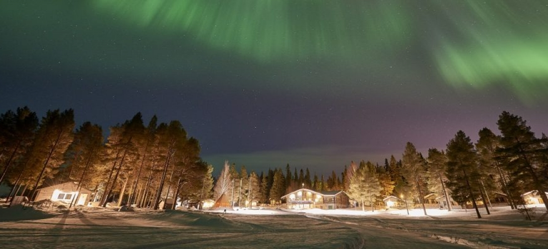 Win a Northern Lights adventure for two in Sweden in 2021