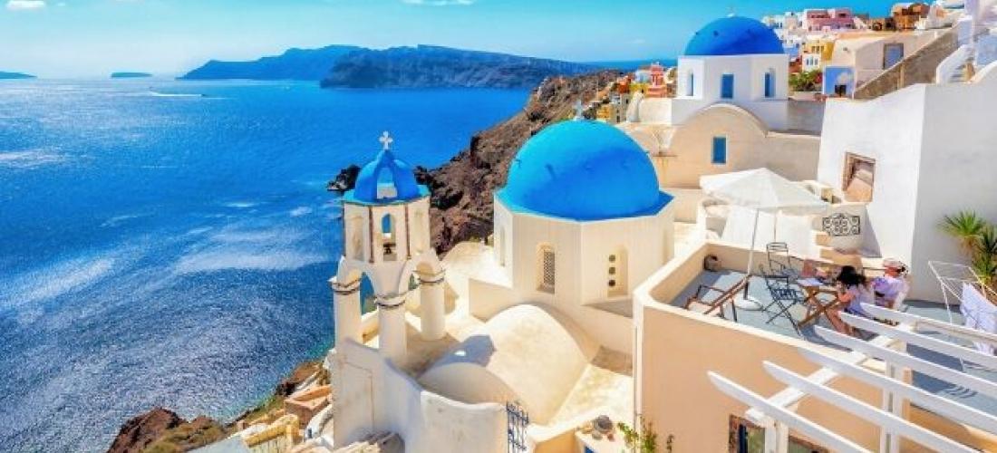 Greece Athens, Mykonos & Santorini break
