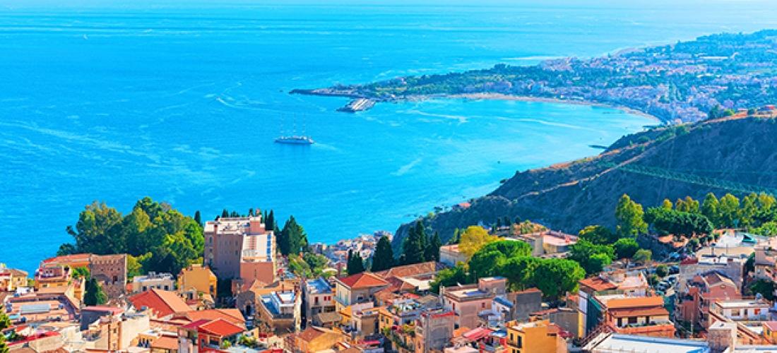 Scenic Sicily hideaway along the coast, Hotel Park Silemi, Italy