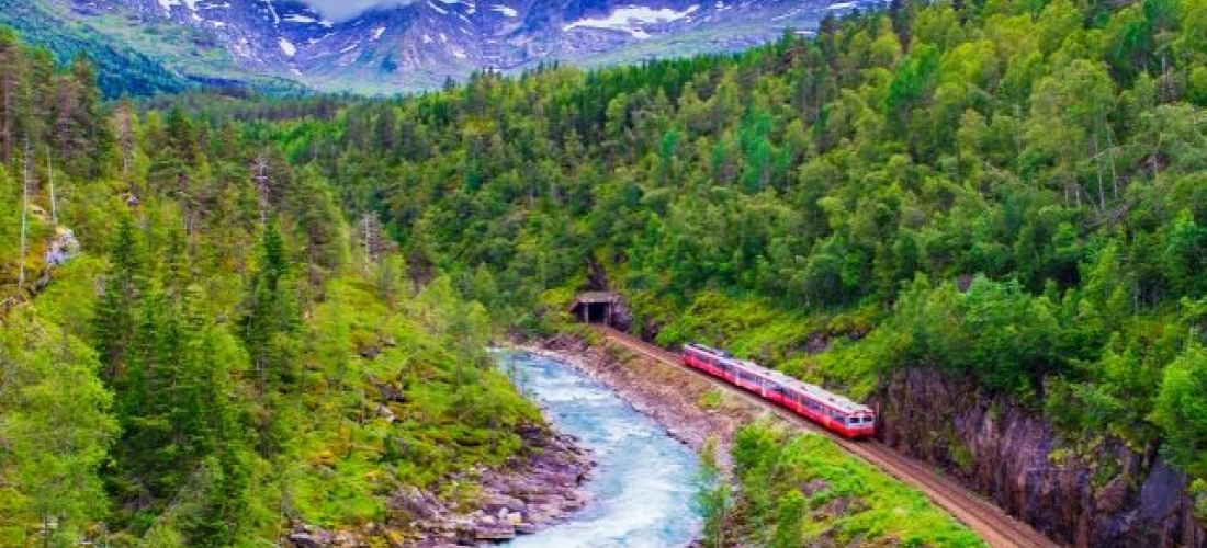 A Stunning Train Ride Through the Fjords, Oslo, Flam, Balestrand and Bergen, Norway