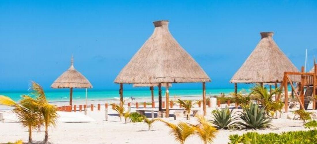 Paradise Mexico in the Yucatán, Playa del Carmen, Isla Holbox, Mexico