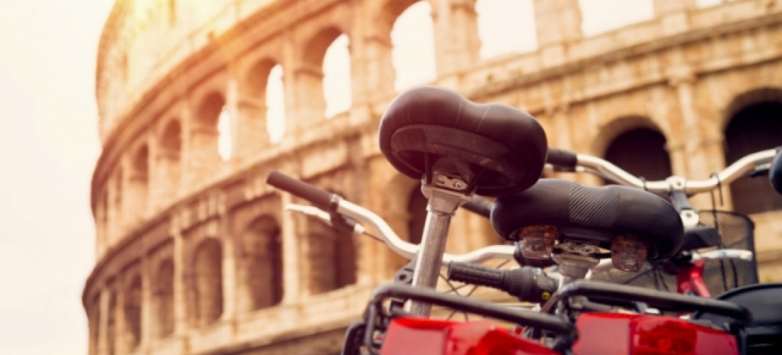 Explore the best of Rome by bike, Rome, Italy