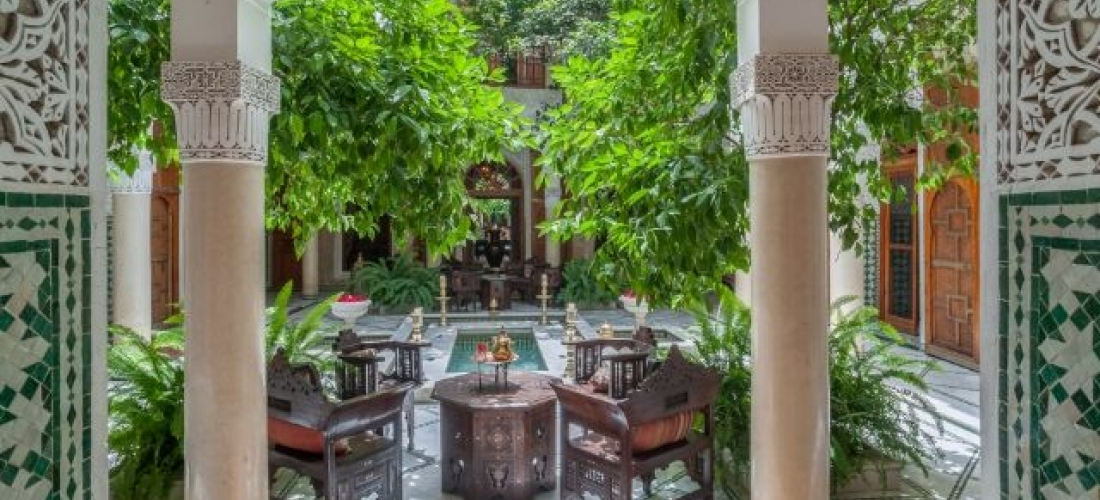 Discover Marrakech in an authentic riad, Marrakesh, Morocco