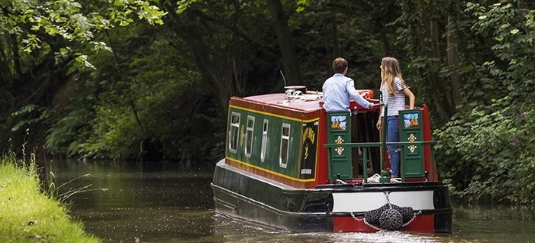 Win one of two 7-night canal boat holidays for eight people
