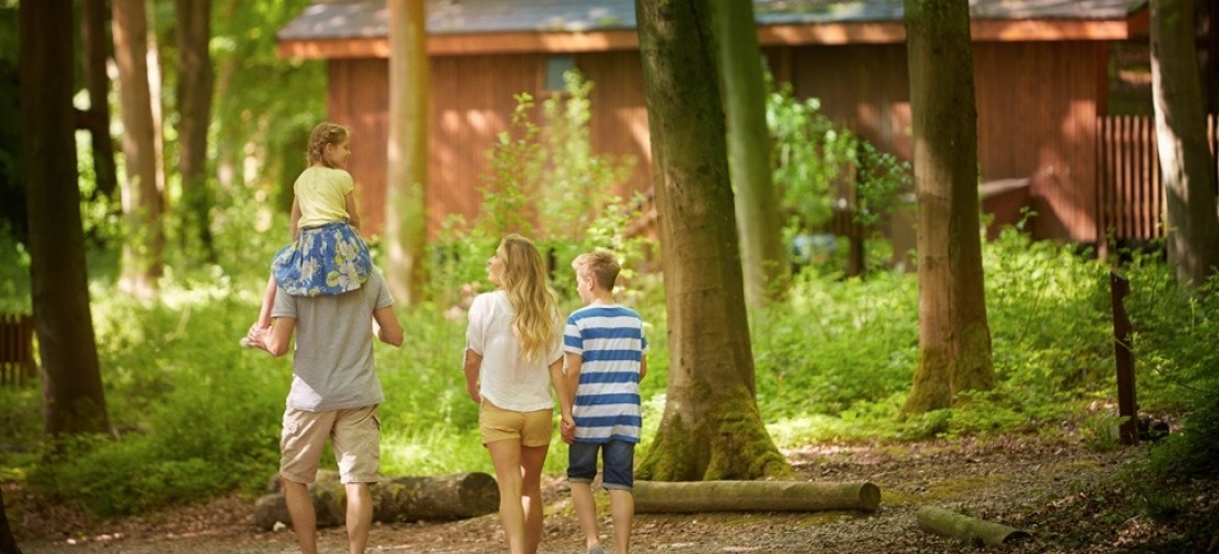 Win a 3-night Forest Holidays break in the UK for 4 - worth up to £800