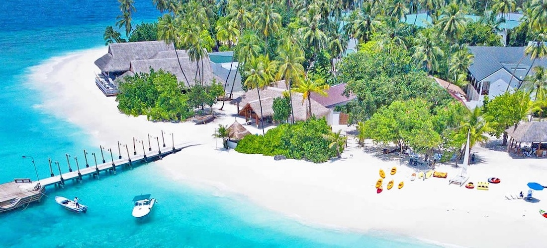 4* deluxe all-inc Maldives escape w/flights