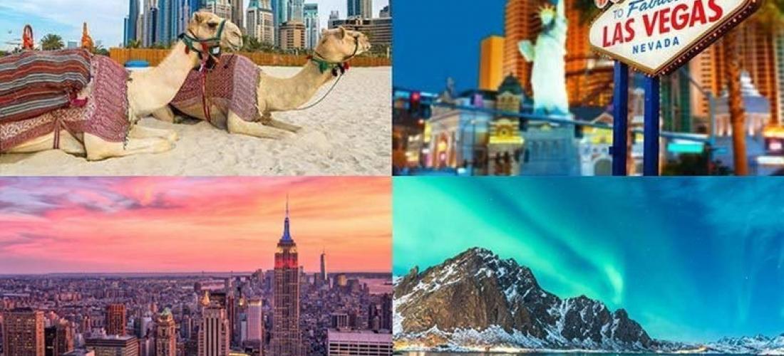 Mystery Holiday - New York, Cancun, Vegas, Dubai, Disneyland & More!